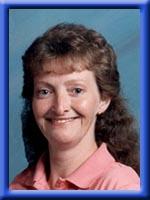 Judy Zwicker in blue frame